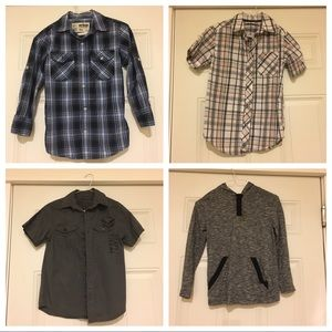 Other - 3 button up and 1 Henley big boy small (8)